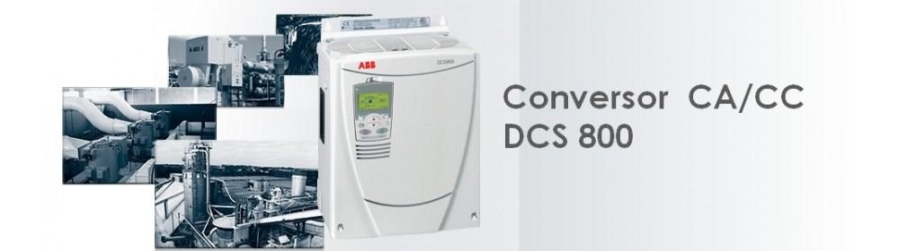 Conversor CA/CC DCS 800
